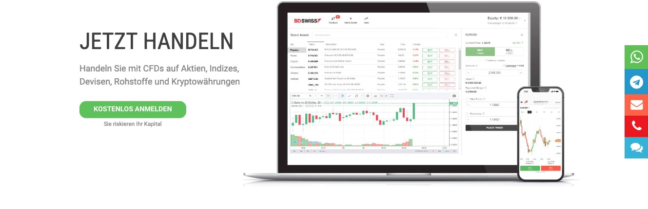 BDSwiss – Online Trading - VASTANI Company